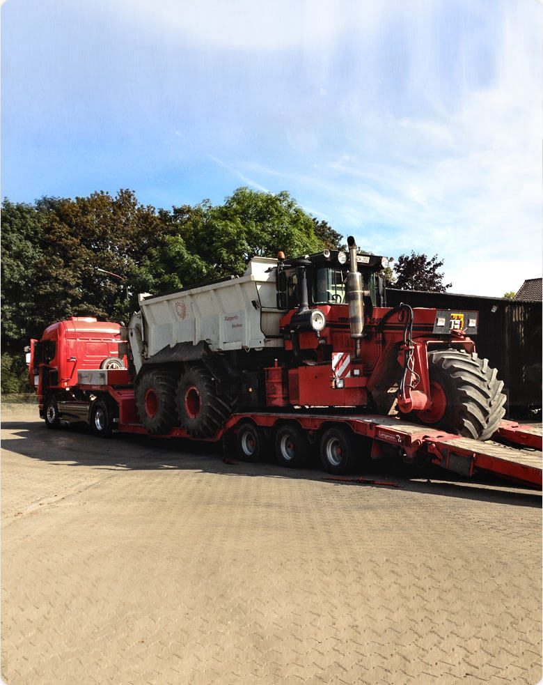 Kappertz Agrar und Umwlet service-schwertransport